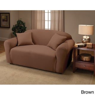 Sanctuary Stretch Jersey Loveseat Slipcover