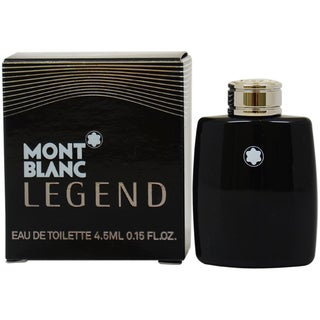 Mont Blanc Legend Men's 0.15-ounce Eau de Toilette Splash (Mini)