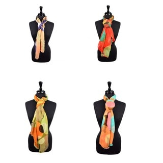 LA77 Women's Bubble Print Scarf