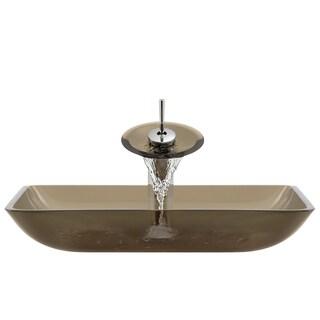 The Polaris Sinks P046 Taupe Chrome Bathroom Ensemble