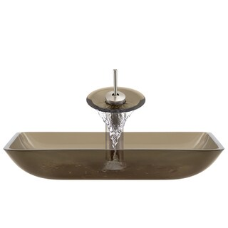 The Polaris Sinks P046 Taupe Brushed Nickel Bathroom Ensemble
