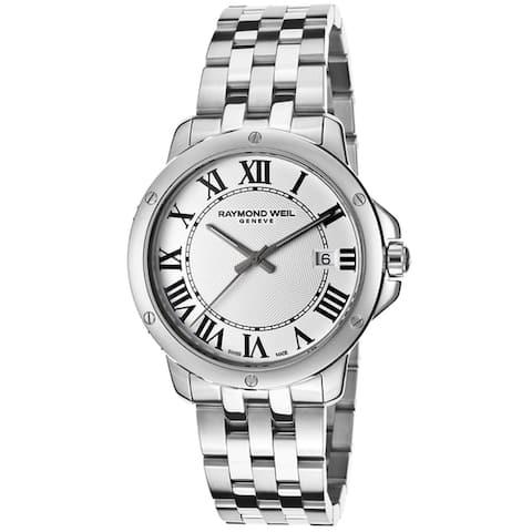 Raymond Weil Men's 5591-ST-00300 Tango Stainless Steel Watch - silver