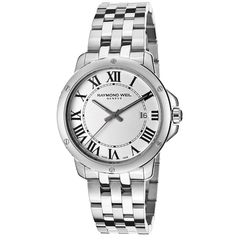 Raymond Weil Men's 5591-ST-00300 Tango Stainless Steel Watch - silver