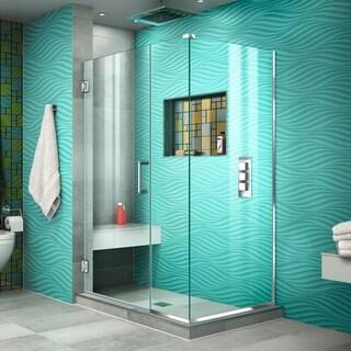DreamLine Unidoor Plus 44.5 in. W x 30.375 in. D x 72 in. H Hinged Shower Enclosure