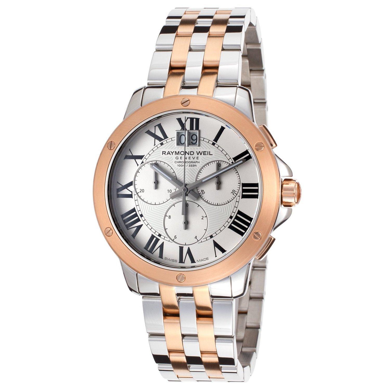Raymond Weil Men's 4891-SP5-00660 Tango Two Tone Watch (Raymond Weil Men's 4891-SP5-00660 Tango Watch)