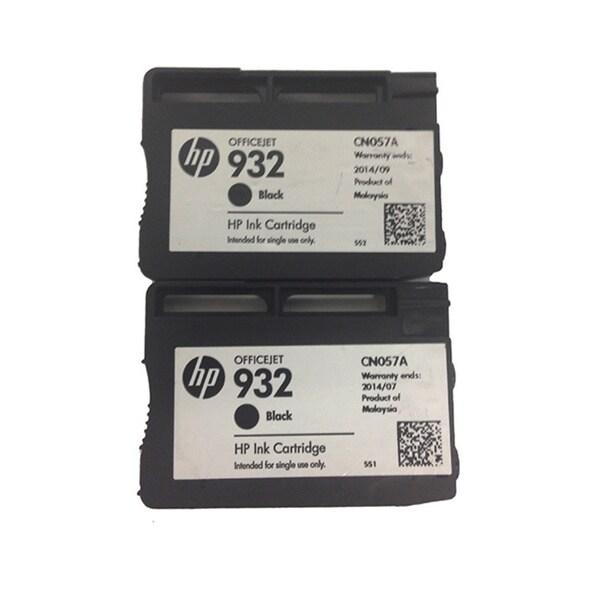 Genuine HP 932 Black Original Ink Cartridge (Pack of 2)