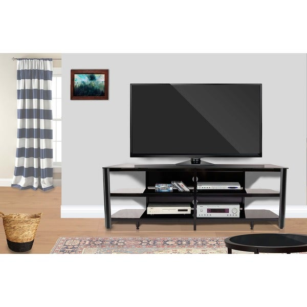 Shop Fold N Snap Oxford 73 Inch Black Innovex Tv Stand Free