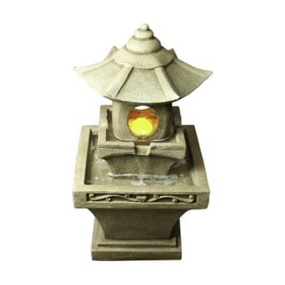 Bond Komoro Fountain with 6 LED Lights