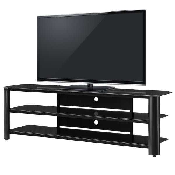Shop Fold N Snap Oxford 65 Inch Black Innovex Tv Stand Free