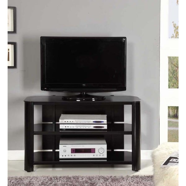 Shop Innovex Oxford 42 Inch Black Tv Stand Free Shipping Today