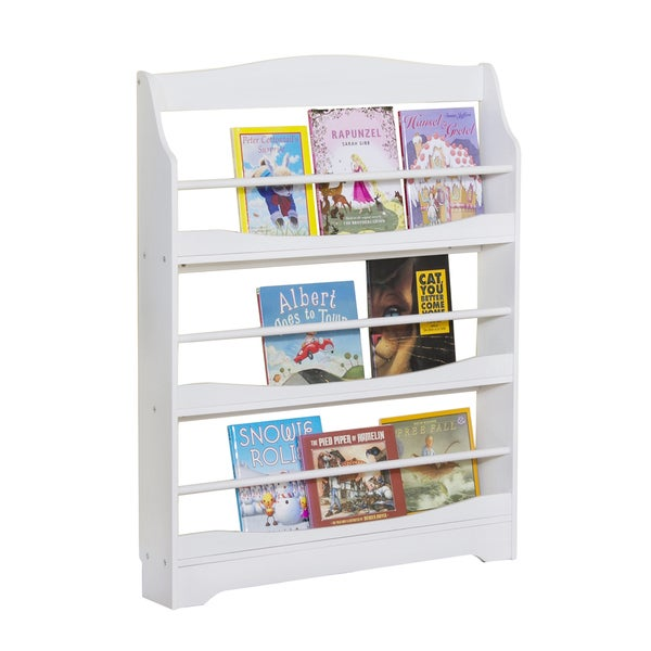 Expressions White Bookrack