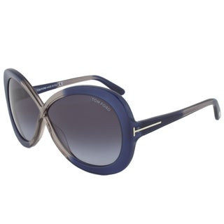 Tom Ford Women's TF0226 Margot Rectangular Sunglasses