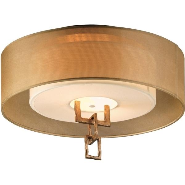 Troy Lighting Link 2-light Semi-flush Mount