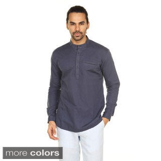 In-Sattva Anita Dongre Men's Welt Pocket Pullover Tunic (India)