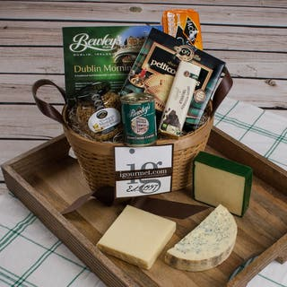 Sauces spices gift baskets for less overstock igourmet irish classic cheese gift basket negle Image collections