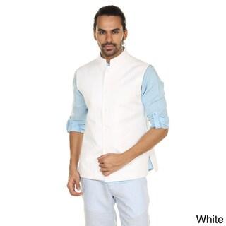 In-Sattva Anita Dongre Men's Button Down Vest (India)