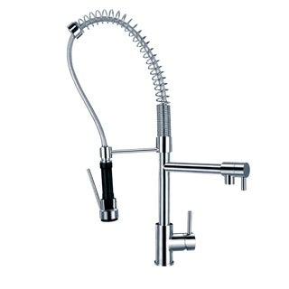 Sumerain Pre-rinse High-arc Kitchen Faucet and Pot Filler