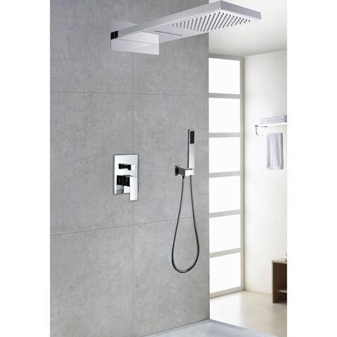 Sumerain Waterfall Shower System, Model S2098CS - Silver