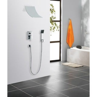 Sumerian Polished Chrome Contemporary/Modern Complete Shower System
