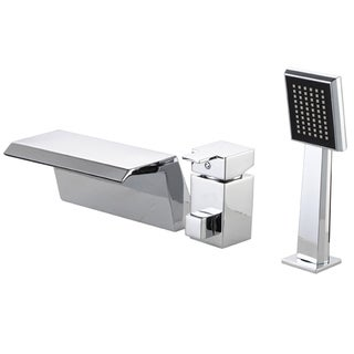 Sumerain Chrome Waterfall Bathtub Faucet