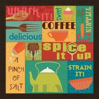 Pela Studio 'Kitchen It! I' Framed Art