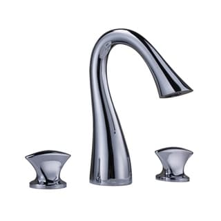 Sumerian Polished Chrome Widespread Sink Faucet