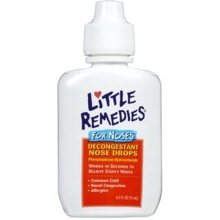 Little Remedies 0.5-ounce Decongestant Drops