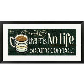 Pela Studio 'Funny Coffee II' Framed Art