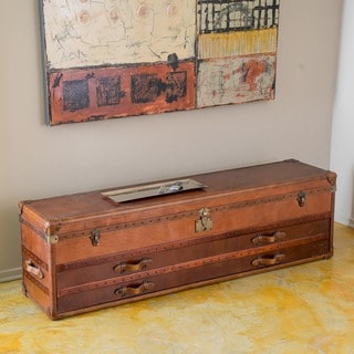 Christopher Knight Home Aldrin Steamer Trunk Chest