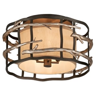 Troy Lighting Adirondack 4-light Semi-flush Mount