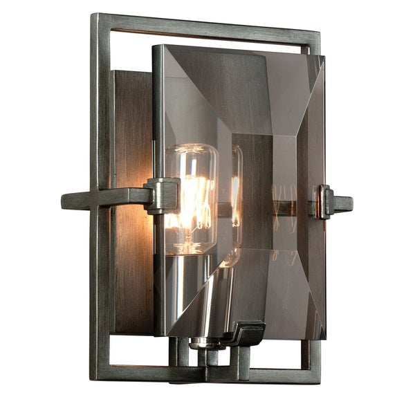 Troy Lighting Prism 1-light Wall Sconce  sc 1 st  Overstock & Troy Lighting Prism 1-light Wall Sconce - Free Shipping Today ...