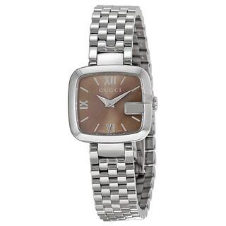 Gucci Women's YA125516 G-Gucci Recognizable G Case Classic Bracelet Watch|https://ak1.ostkcdn.com/images/products/9147677/P16328008.jpg?_ostk_perf_=percv&impolicy=medium
