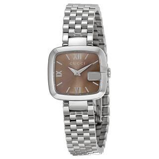Gucci Women's YA125516 G-Gucci Recognizable G Case Classic Bracelet Watch|https://ak1.ostkcdn.com/images/products/9147677/P16328008.jpg?impolicy=medium