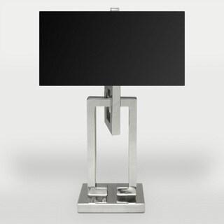 Ren Wil Meander 1-light Polished Nickel Table Lamp