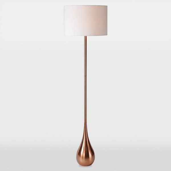 Shop Ren Wil Pandora 1 Light Copper Floor Lamp Free Shipping Today