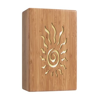 Lighthouse 1-light Bamboo Wall Sconce, Sun Design
