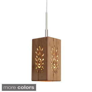 Lighthouse 1-light Bamboo Pendant