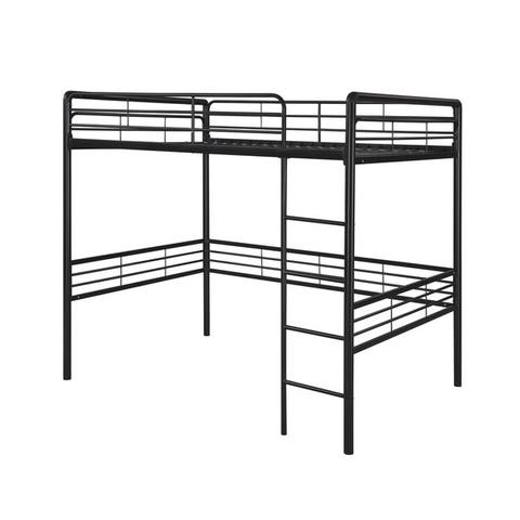 Full Size Loft Bed Black Kids Amp Toddler Beds Shop