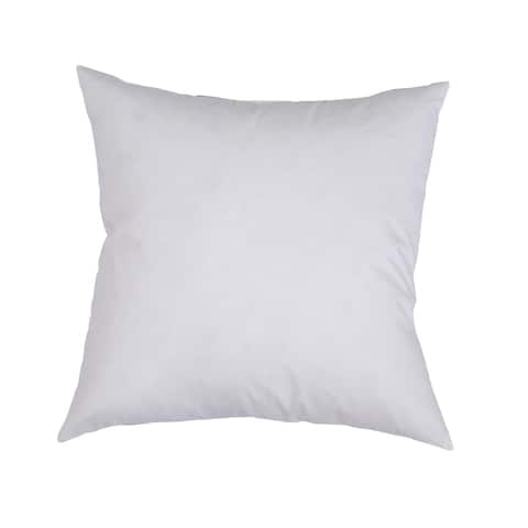 Downlite Feather / Down Decorator Square Throw Pillow Insert