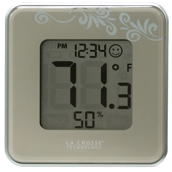 La Crosse Technology 302-604S Indoor Temperature & Humidity Station