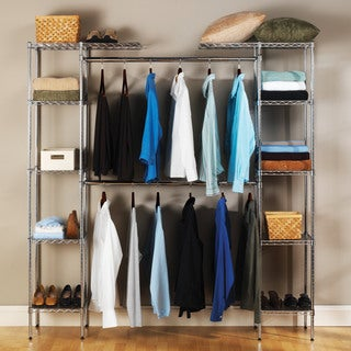 Seville Classics UltraZinc Expandable Closet Organizer. Storage   Organization Store   Shop The Best Brands up to 10  Off