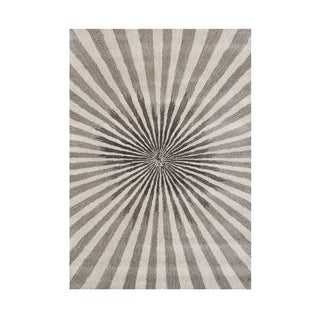 Alliyah Handmade Bleached Sand New Zealand Blend Wool Rug (8' x 10')