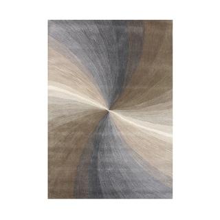 Alliyah Handmade Steel Grey New Zealand Blend Wool Rug (8' x 10')