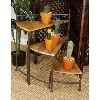 Rotating Stair Step Planter Stand
