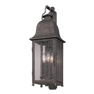 Troy Lighting Larchmont 3-light Wall Lantern