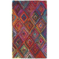 LR Home Layla Multi-coloreded Contemporary Abstract Rug (3'6 x 5'6) - 3'6 x 5'6