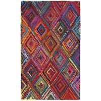 LR Home Layla Multi-coloreded Contemporary Abstract Rug - 3'6 x 5'6