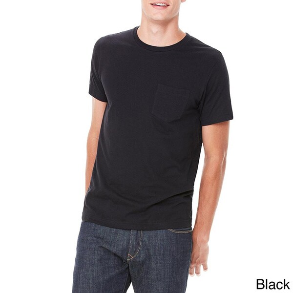 Canvas Men's Short Sleeve Pocket T-shirt. Opens flyout.