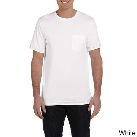 Canvas Men's Short Sleeve Pocket T-shirt