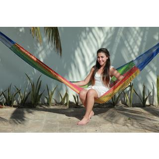Savannah Standard Multi-color Mayan Hammock (Mexico)